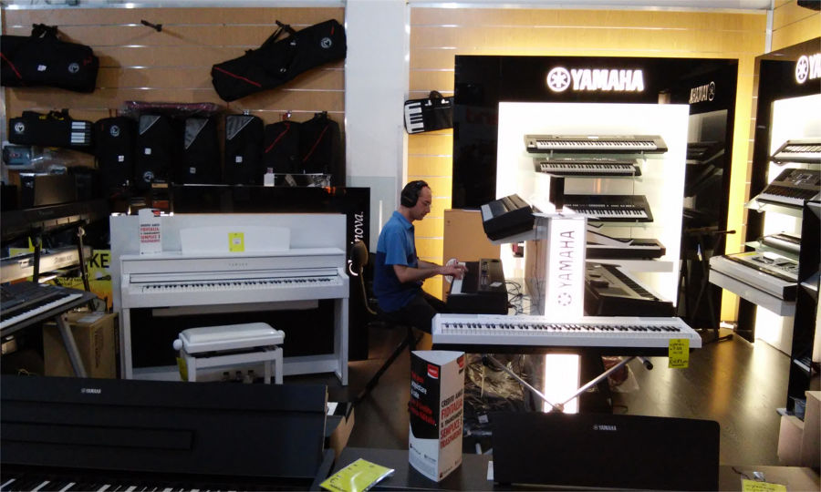 prova pianoforte digitale