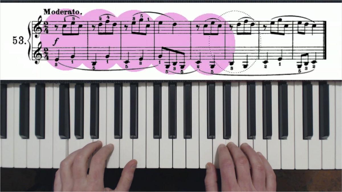 pianoforte come iniziare con beyer op101
