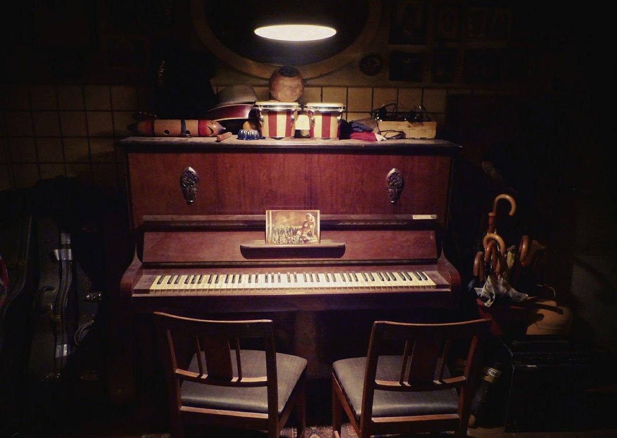 Lo spazio per suonare il pianoforte