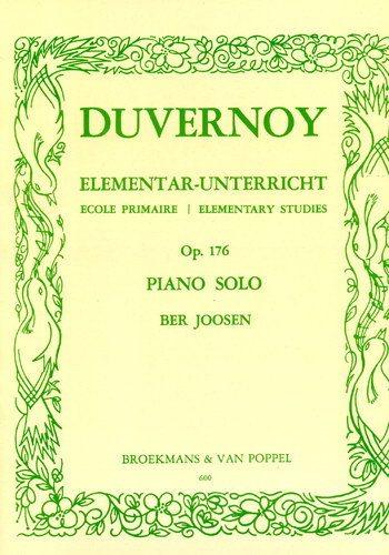 Duvernoy op 176 imparare a suonare il piano