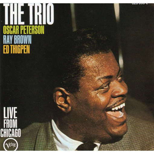 Oscar Peterson - Live from Chicago cd cover