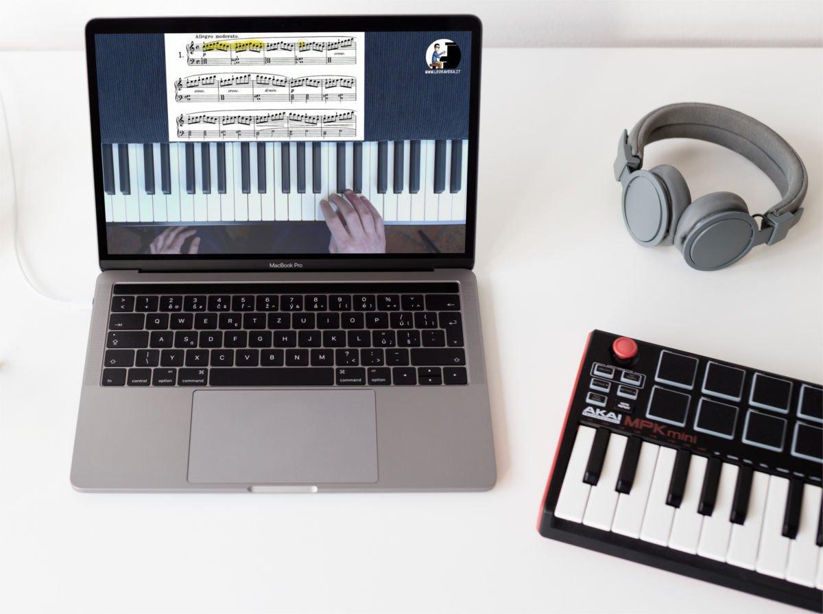 un esempio di Duvernoy op.176 videocorso per il secondo anno di pianoforte