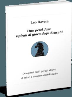 Otto pezzi jazz ispirati al gioco degli scacchi - cover libro