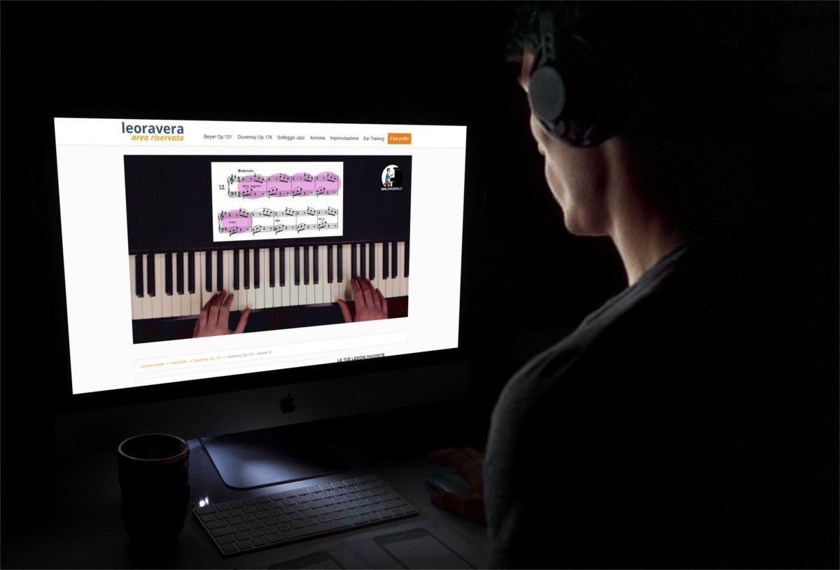studi pianoforte quando vuoi tu, anche la sera