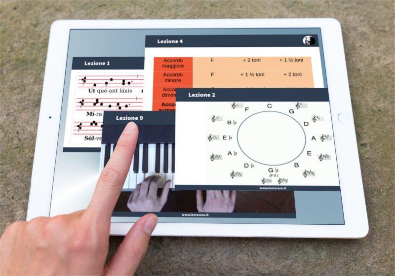 videocorso di armonia funzionale-tablet