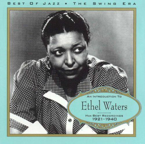 Ethel Waters Cd cover
