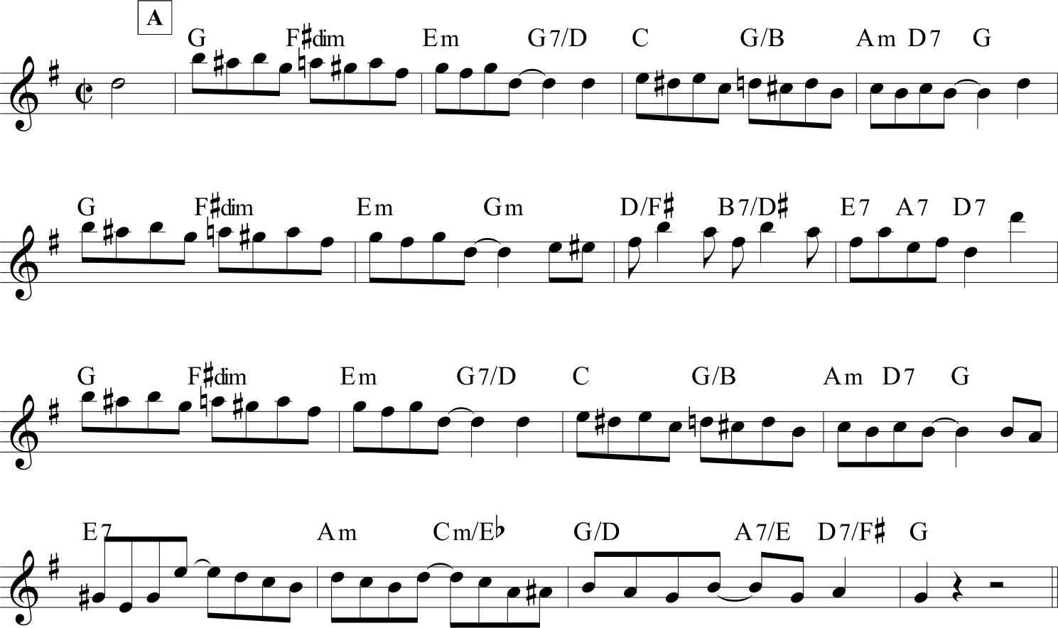 The Carolina Shout - parte A