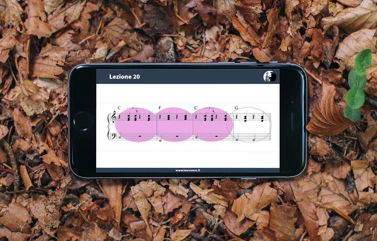 Corso di pianoforte moderno - suonare il piano usando le sigle degli accordi