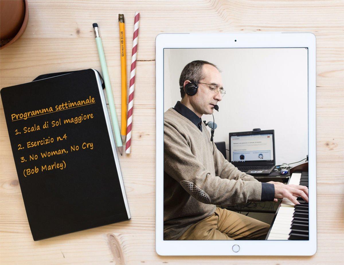 lezioni di piano online - piano di studi personalizzato