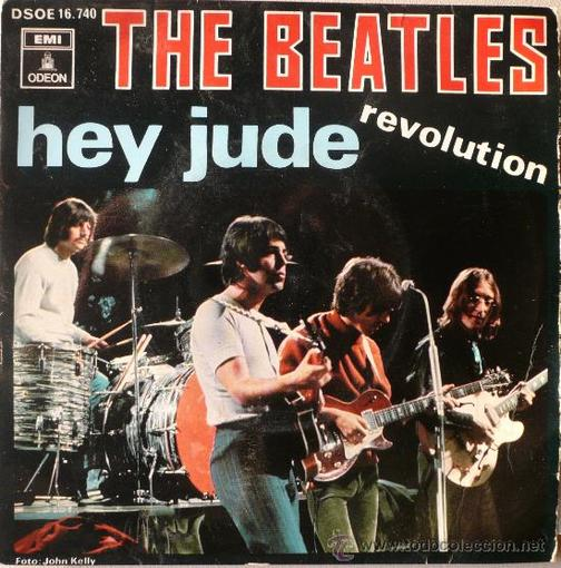 hey-jude Album cover the beatles