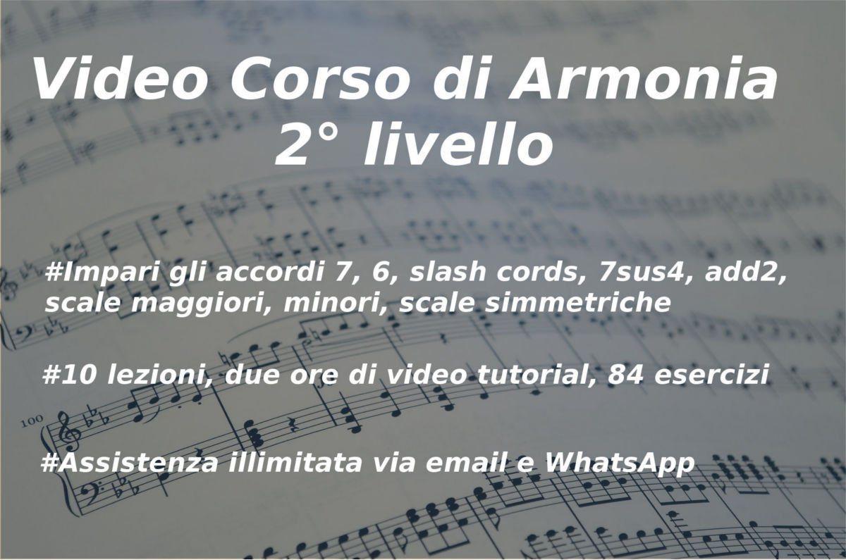 videocorso di armonia 2o livello