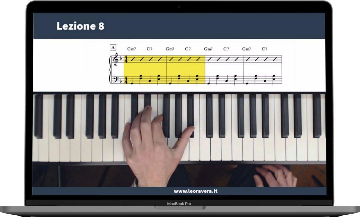 corso di piano jazz - la mano sinistra