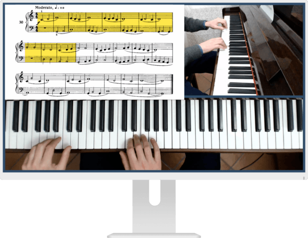mikrokosmos metodo per pianoforte