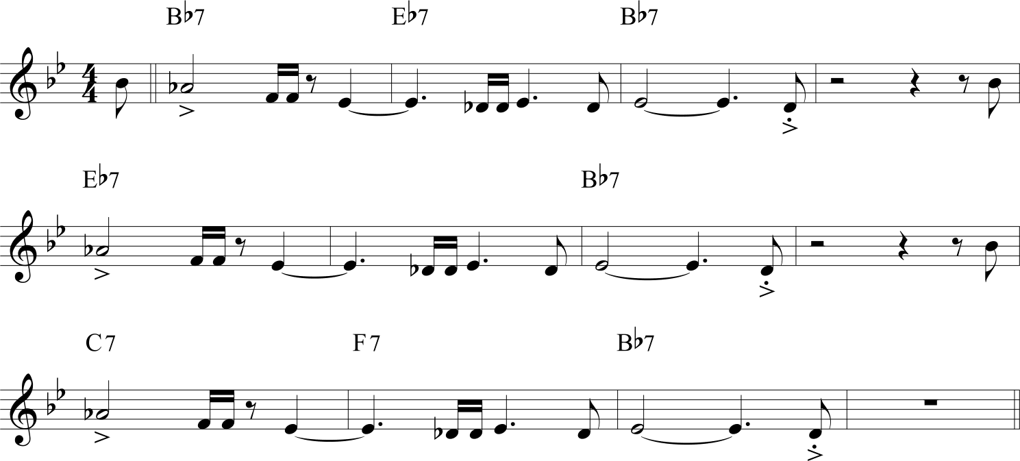 Hip Strut Jackie McLean tema giro di blues