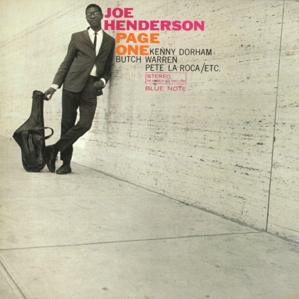 Joe-Henderson-Page-One-album-cover