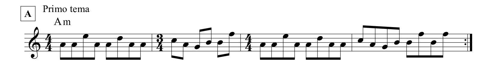 colonna sonora Profondo rosso tema principale spartito