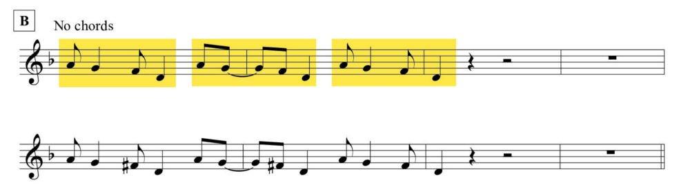 Gassmann blues, riff poliritmico