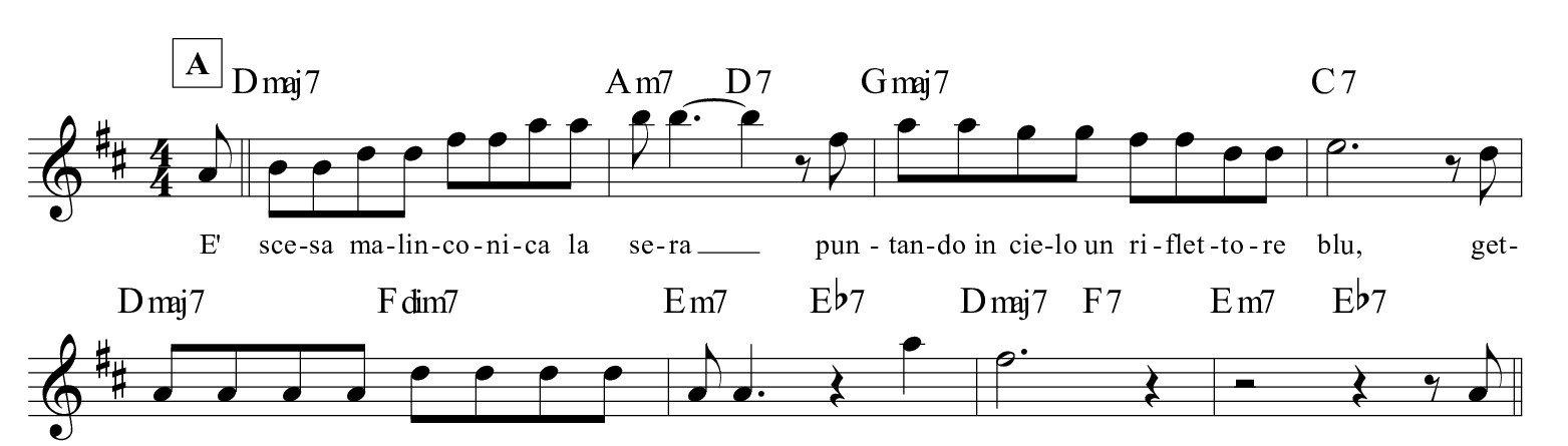 I-ricordi-della-sera-Quartetto-Cetra-PARTE-A-SPARTITO