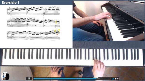 Czerny op299 esercizio 1 video corso
